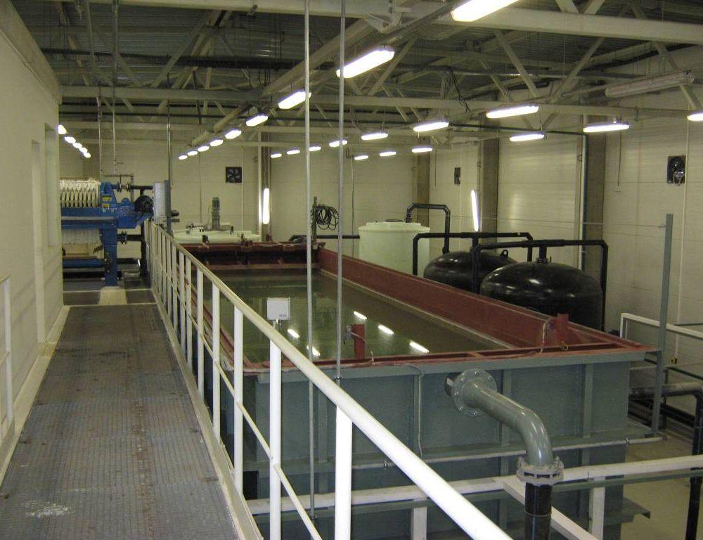 Очистные сооружения для автотранспортной промышленности