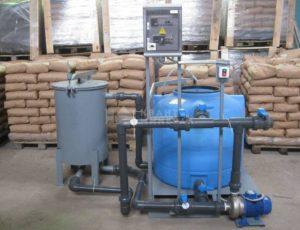 Установка приготовления раствора едкого натра УПР-500