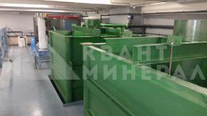 Отстойники на очистных сооружениях сточных вод гальванического производства