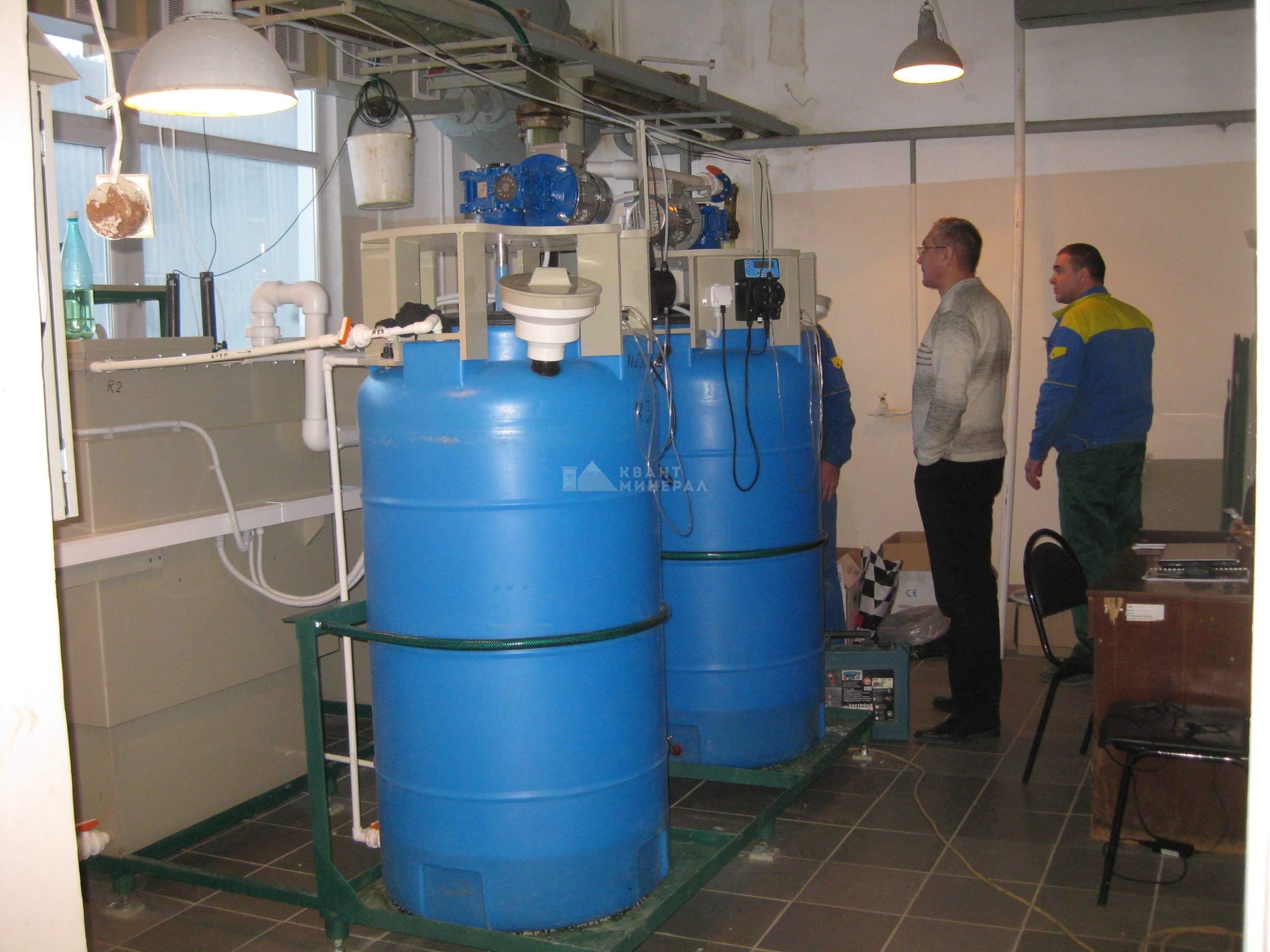 техническое обслуживание очистных сооружений гальваники и печатных плат