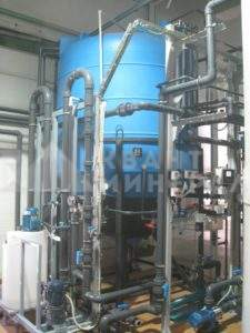 промышленные очистные сооружения промышленных стоков (Бийск)